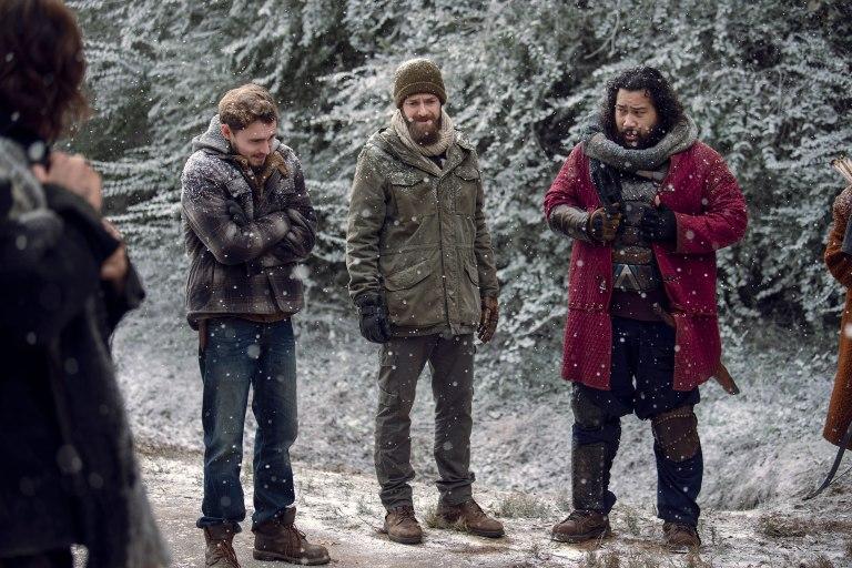 Живите мъртви, зимна